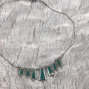 American Eagle Outfitters Faux Turquoise Necklace